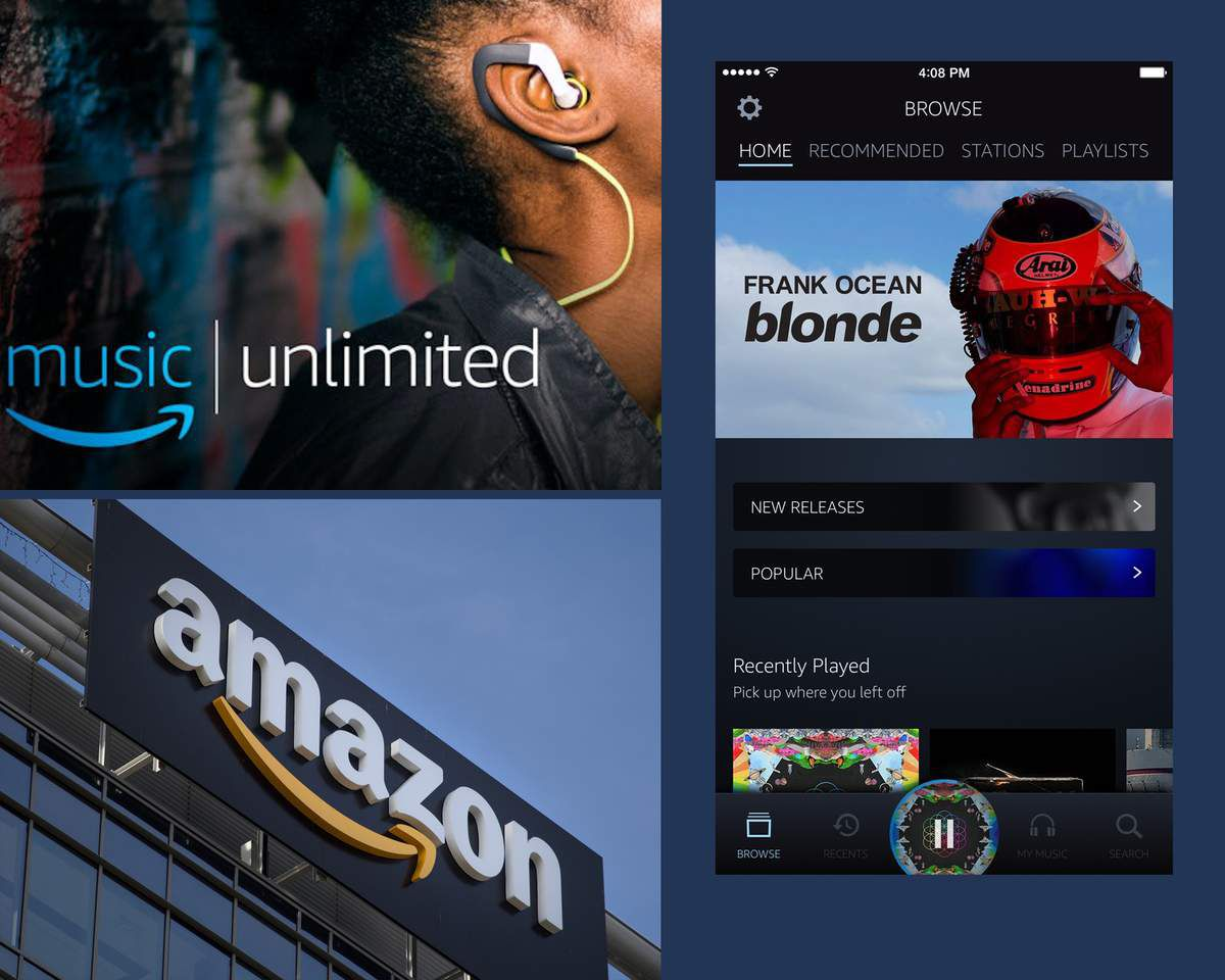 Amazon Music Unlimited, l'offre streaming music du géant US