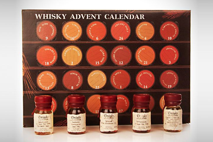 innovation produit whisky advent calendar la calendrier. Black Bedroom Furniture Sets. Home Design Ideas