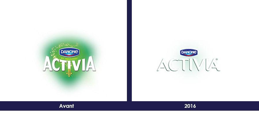 Branding : Nouveau logo pour ACTIVIA de Danone
