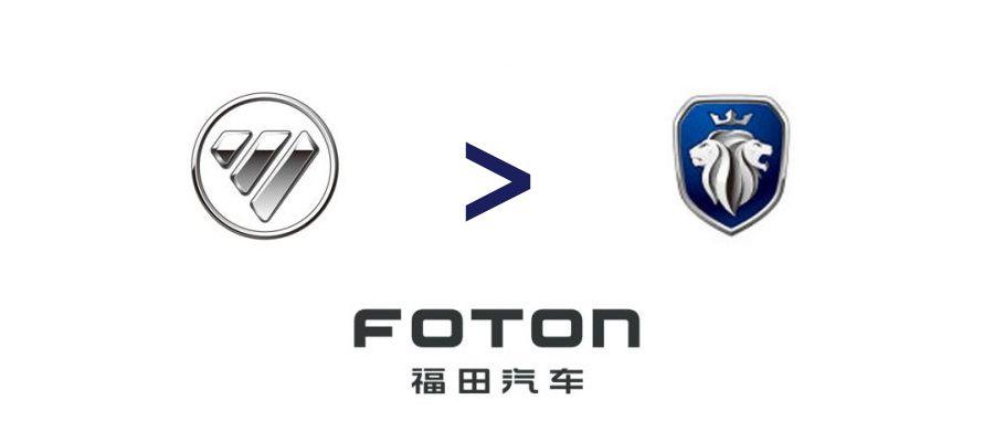 Branding : Nouveau logo pour le constructeur chinois Foton