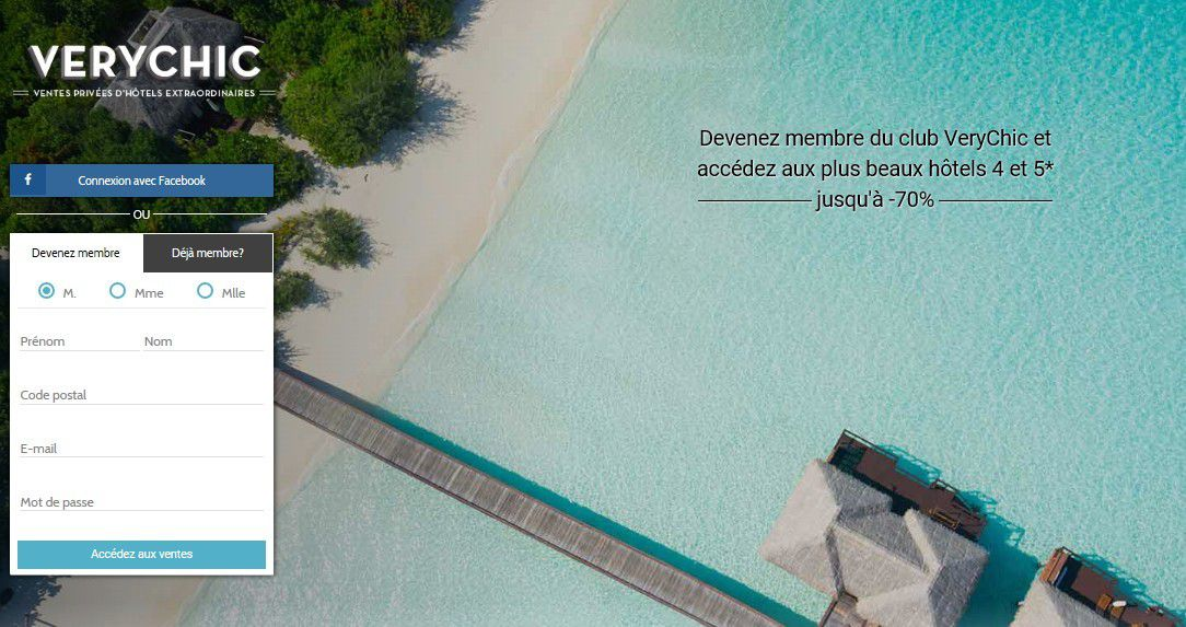 Start-up : AccorHotels rachète VeryChic