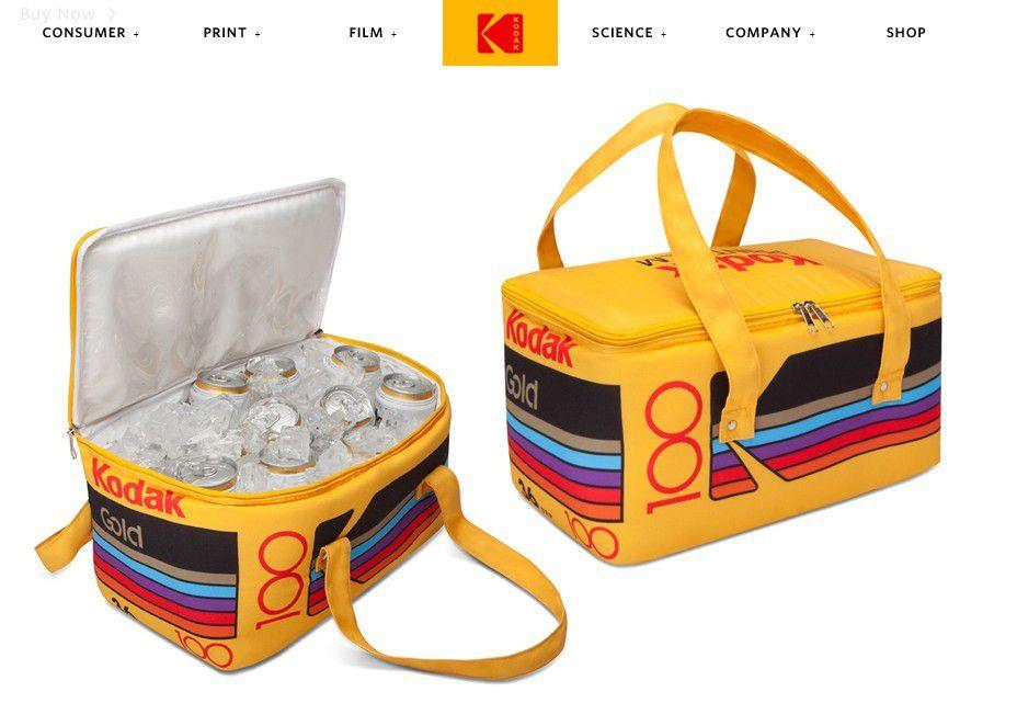 Innovation produit : La glacière vintage KODAK