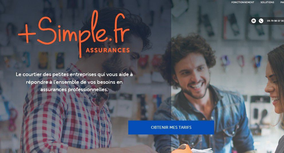 Start-up : Le courtier numérique en assurance PlusSimple.fr lève 800 K€