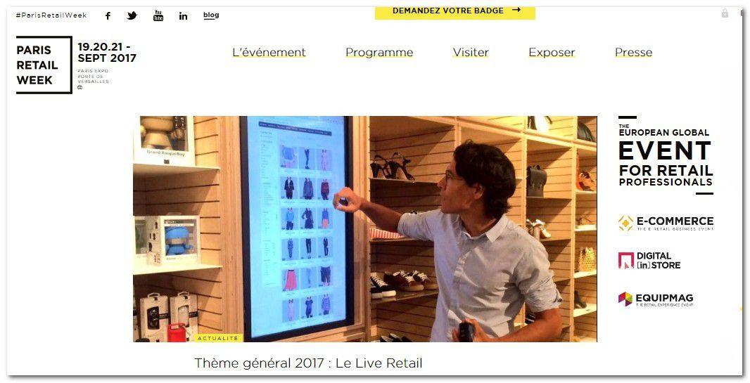 Grande distribution paris retail week 2017 du 19 au 21 - Bricorama paris 19 ...