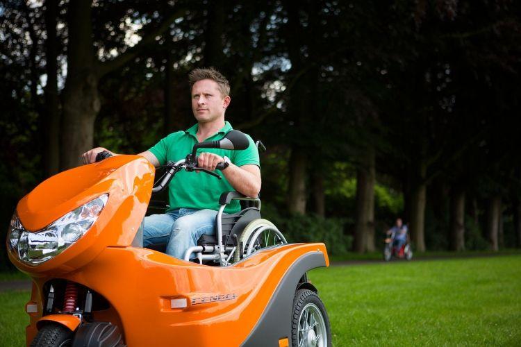 Innovation produit : Huka, scooter pour personne à mobilité réduite