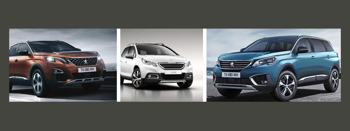 Automobile : Les SUV Peugeot dominent le marché français