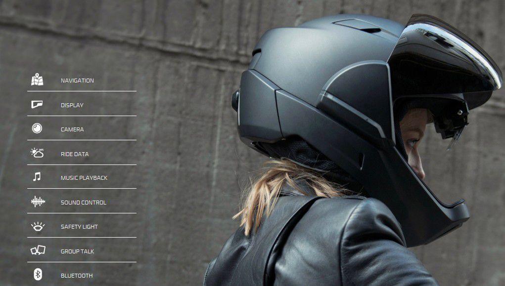 Innovation produit : Nouveau casque de moto avec caméra 360 °