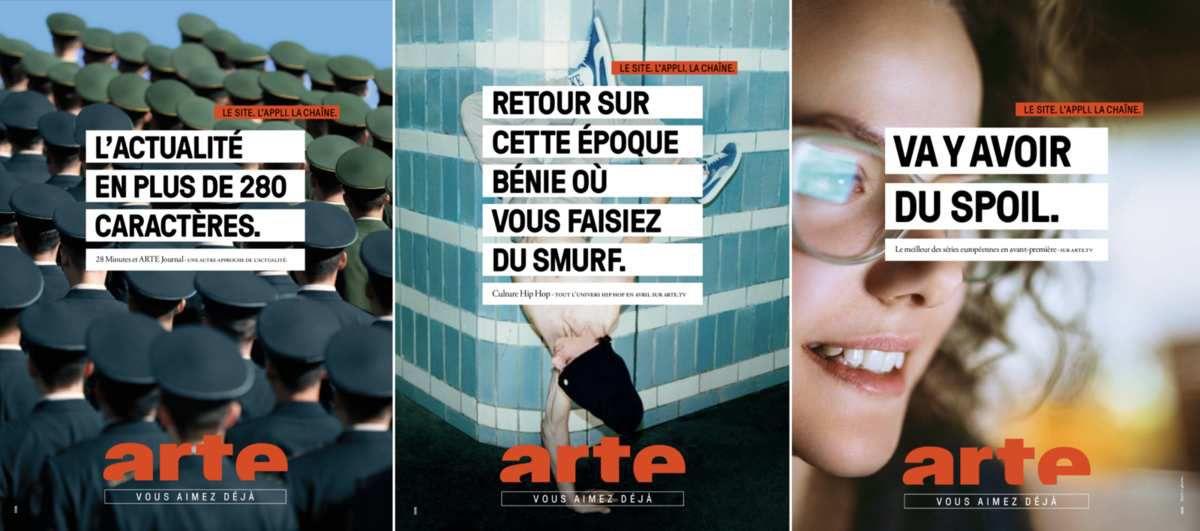 7518b8141 Le plus beau print de la semaine : Arte avec DDB Paris - Newpubmarketing