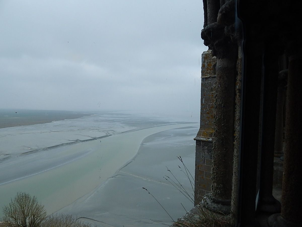 un tour au Mont Saint-Michel...
