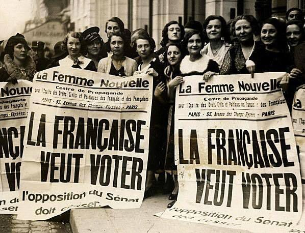 Droit de vote , Avril 1936