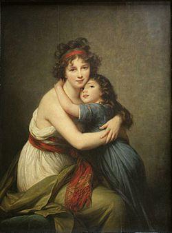 Elisabeth Vigée Lebrun et sa fille