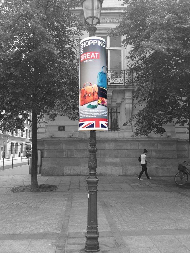 Street marketing paris. Habillage urbain, communication événementielle de rue. Des supports grands formats communicants