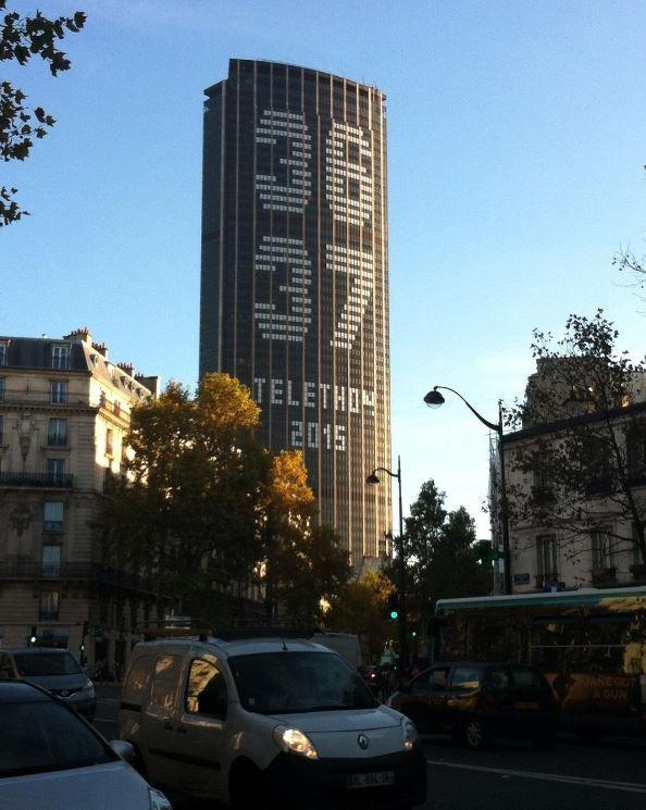 #toumontparnasse #3637 #telethon2015