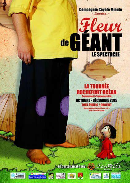 Fleur de Géant, la tournée Rochefort-Océan !