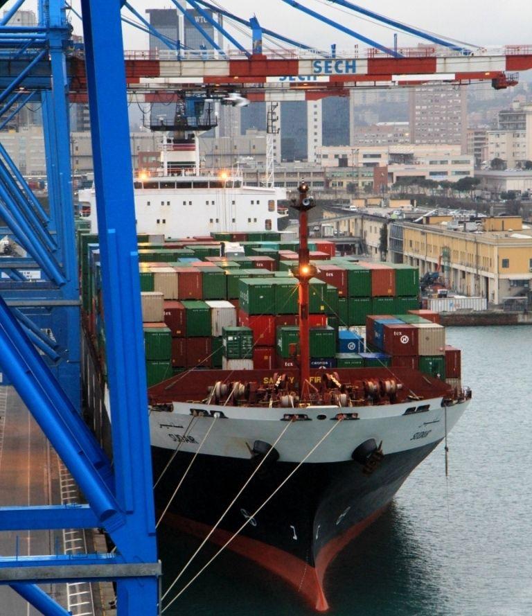 Port de Gênes - Italie