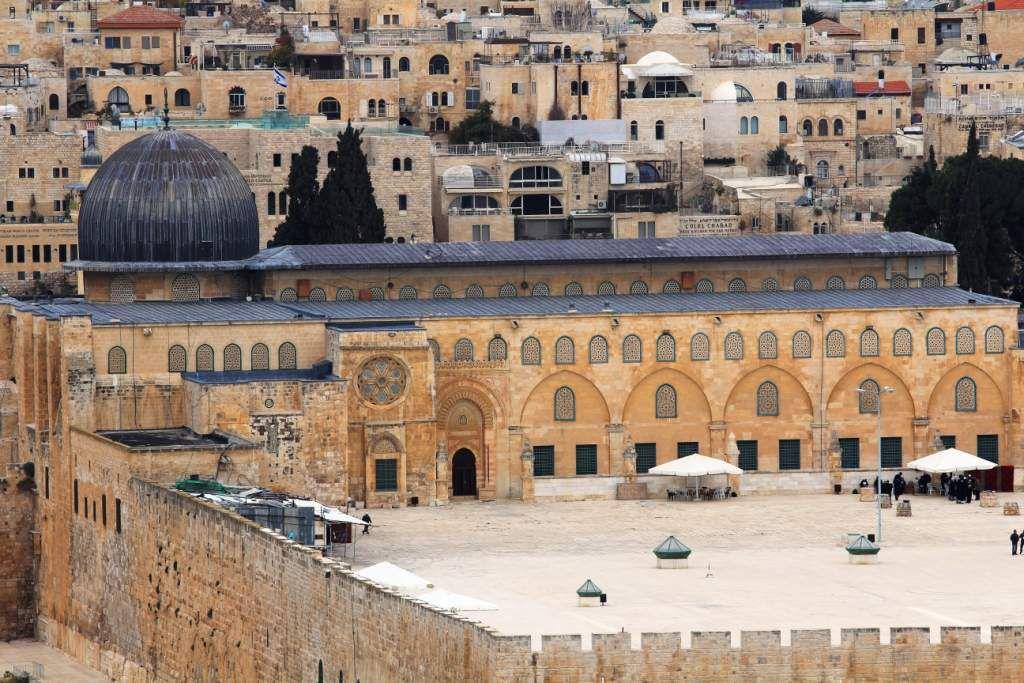 Jerusalem:Haram el Sharif - Dôme du Rocher