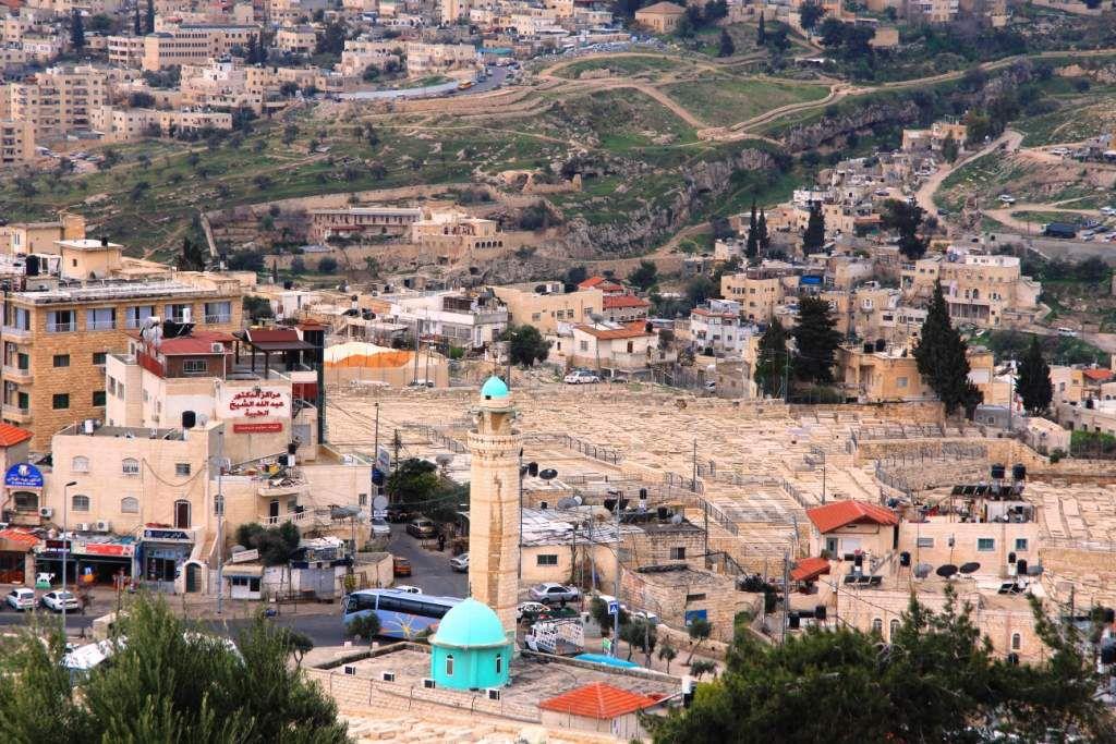 JERUSALEM: Le MONT de OLIVIERS