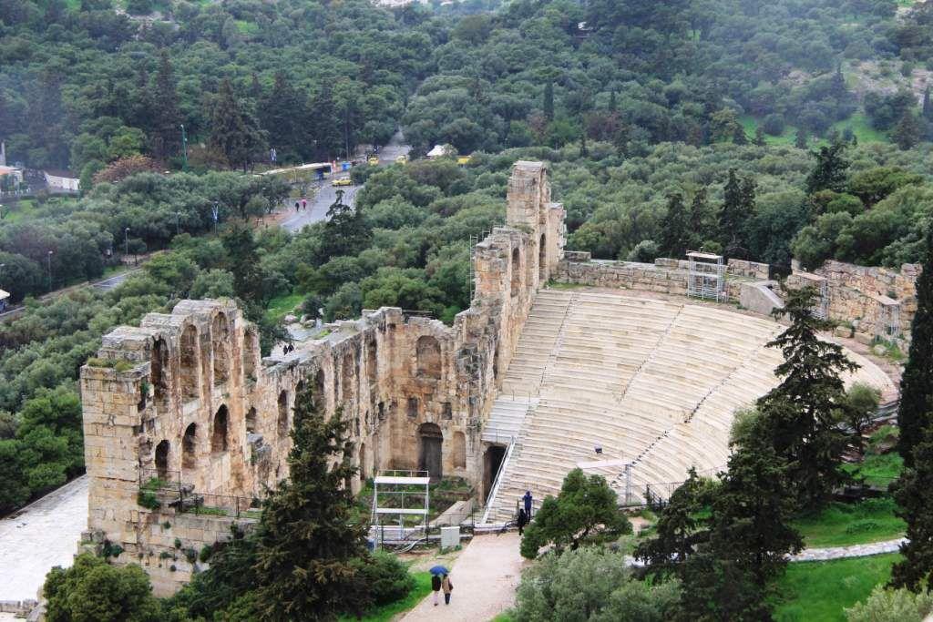 139 Athènes et l'ACROPOLE - Grèce