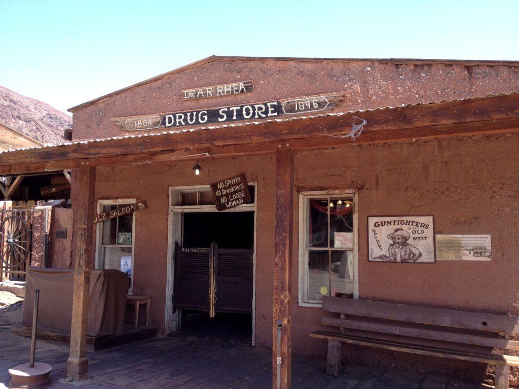 CALICO - Californie - Ville fantôme - Désert Mojave