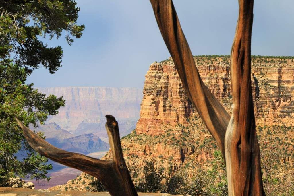 124 Grand Canyon Orage arc en ciel