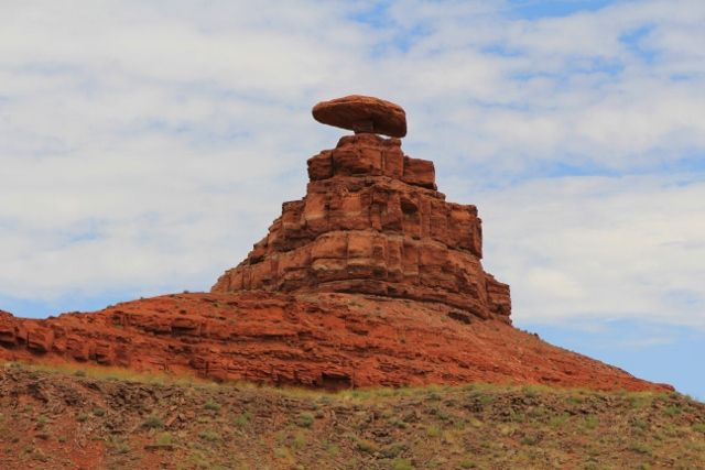 Mexican hat rock - Utah