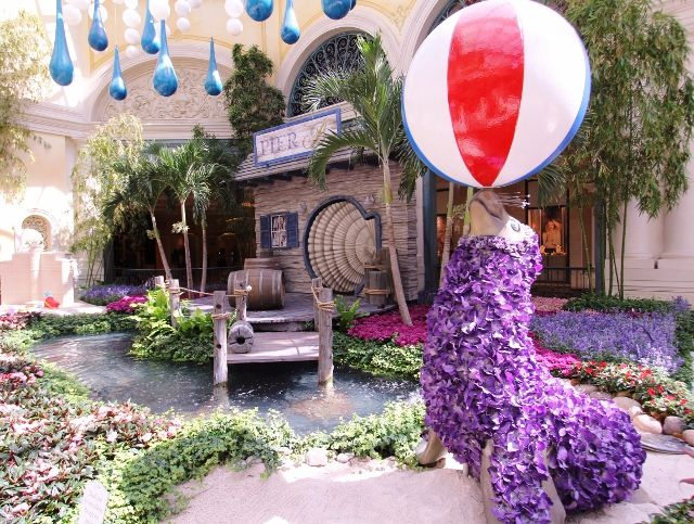 Hotel BELLAGIO - Jardin féérique - Las Vegas