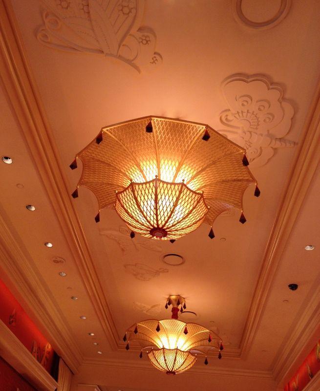 Plafond majestueux   Hôtel Wynn Encore - Las Vegas