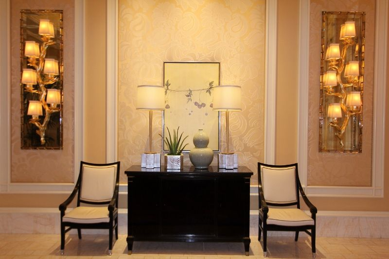 Les salons - Hôtel Wynn Encore - Las Vegas