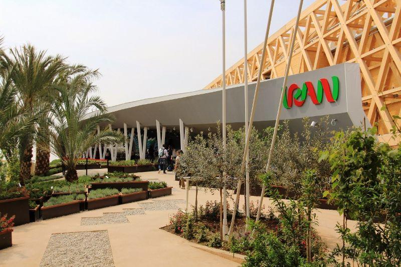 Expo universelle 2015 Milan Pavillons Asie