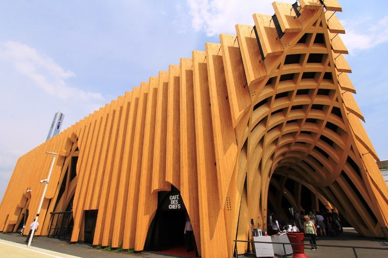 Stands Expo Universelle Milan : Expo universelle milan pavillon france les