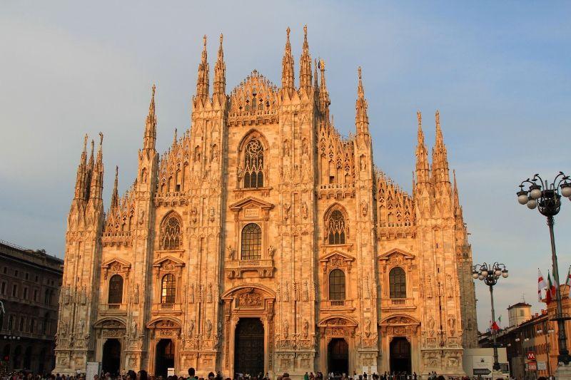 Milan cathédrale le Dôme - Italie