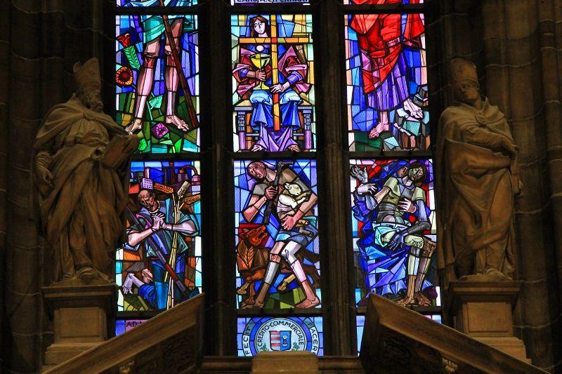 Vitraux cathédrale de Milan - Italie