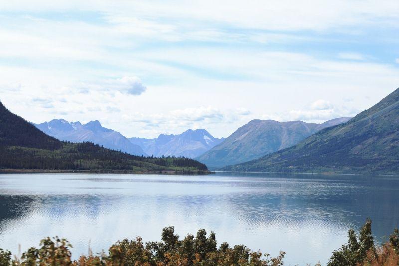 Yukon lacs canadiens