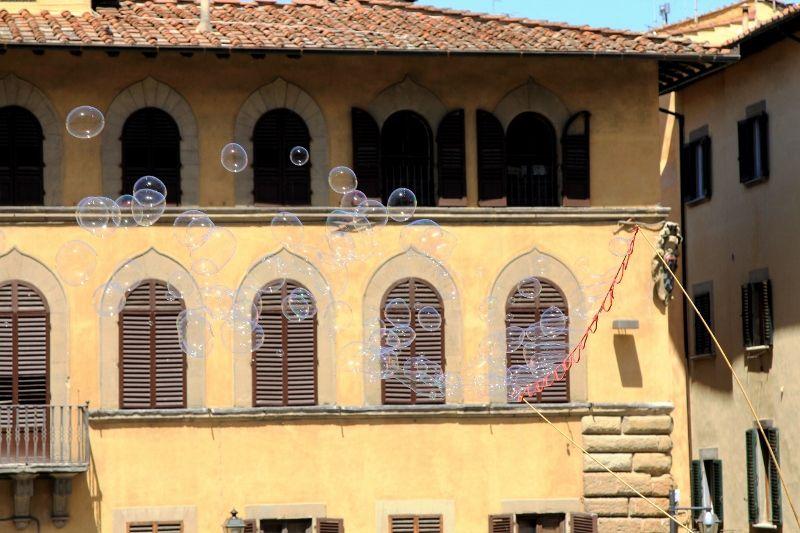 BULLES italiennes aériennes - Florence