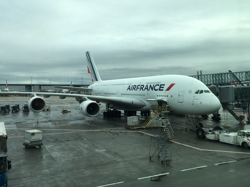Paris New York Air France