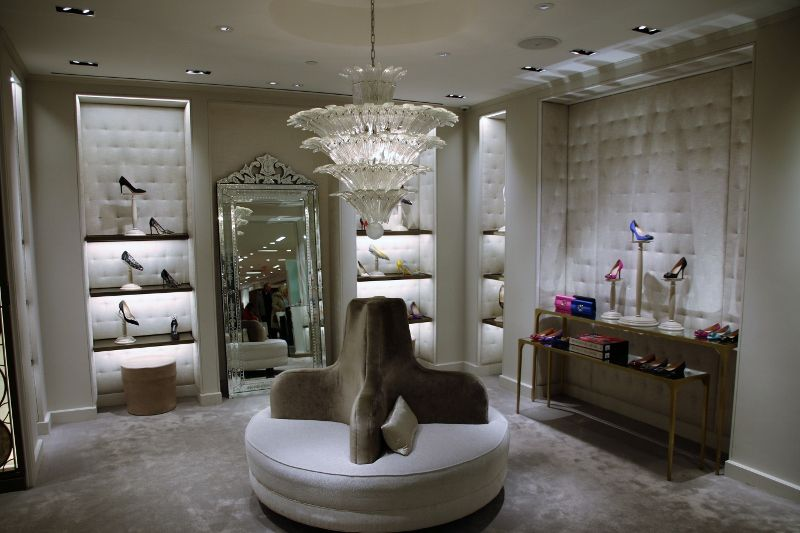 Magasin Saks luxe sur la 5th avenue - New York