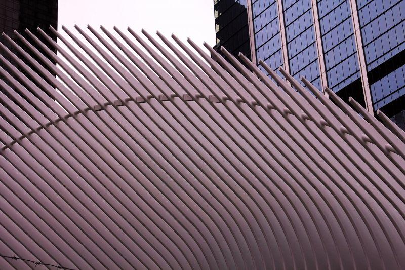 Gare originale PATH : quartier World Trade Center New York