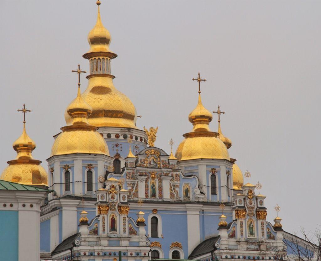 Monastère St Michel au dôme d'or Kiev Ukraine