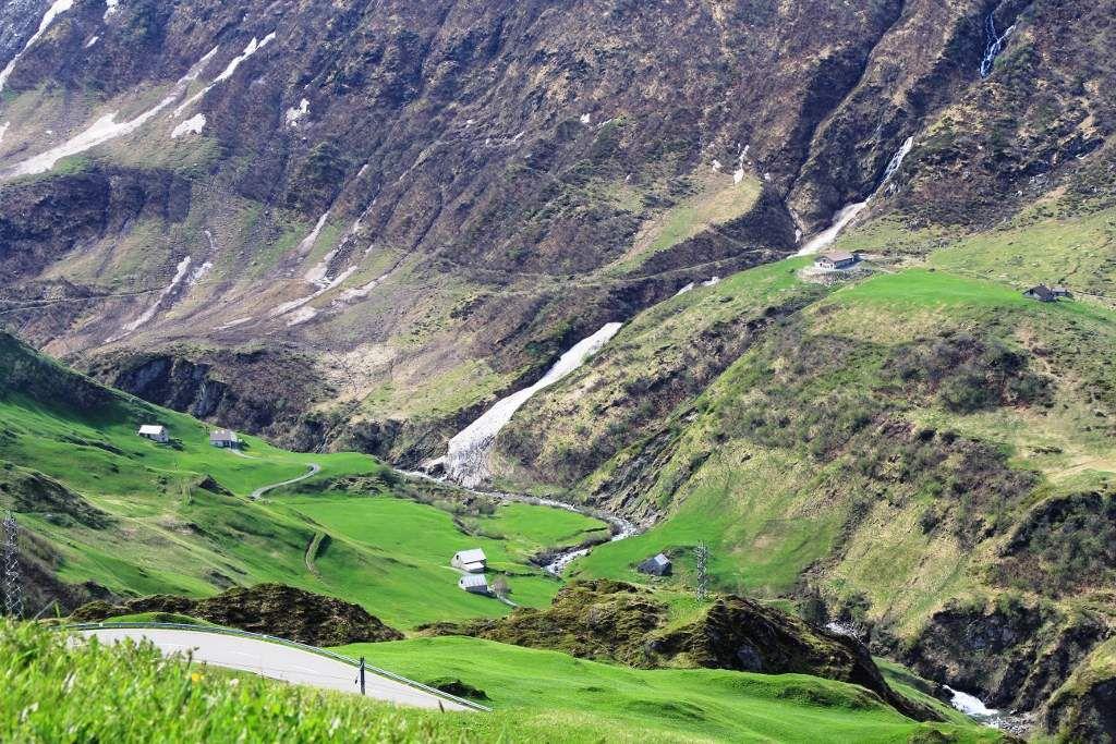 Vallée de l'Urseren - Suisse