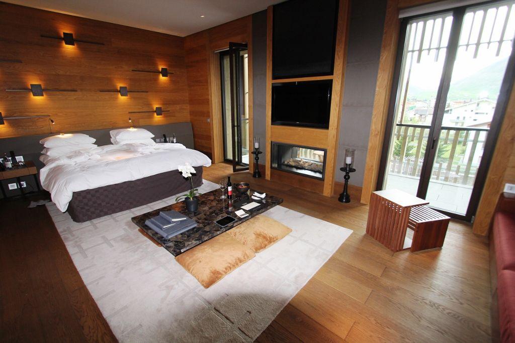 Notre suite à hotel The Chedi - Suisse
