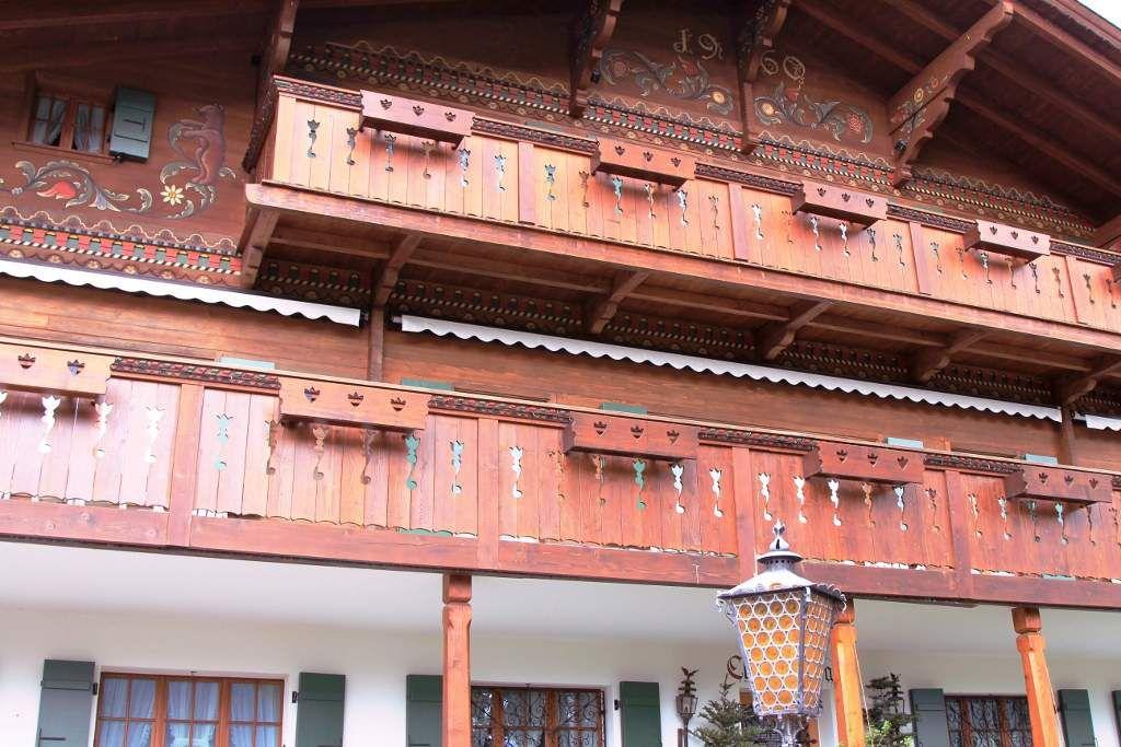 Chalets suisses de Gstaad