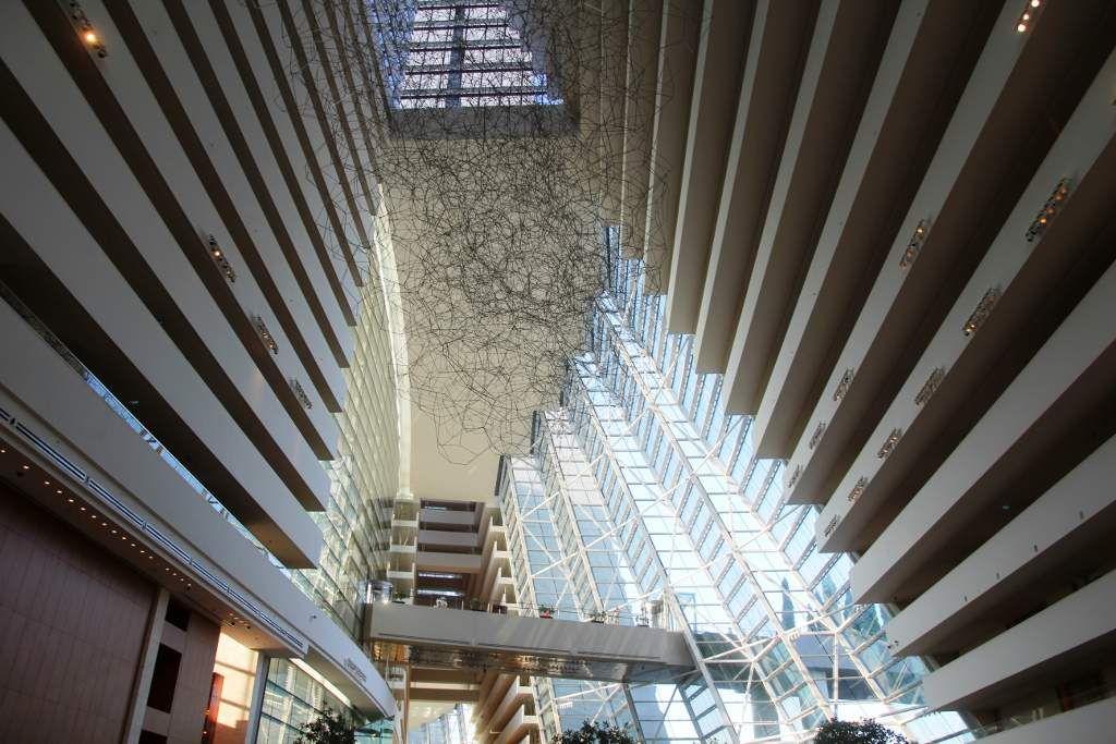 Intérieur du Marina Bay Sand hôtel