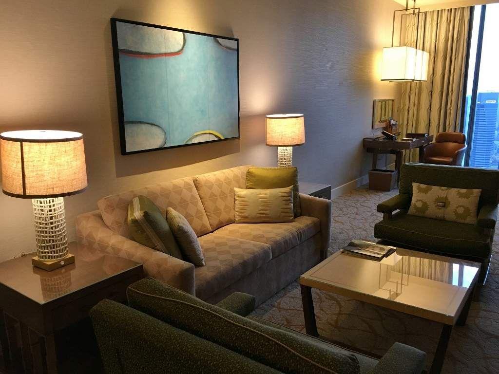 Notre suite Marina Bay Sands hôtel - SINGAPOUR