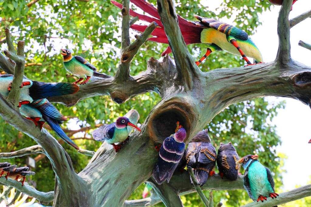 Parc Haw Par Villa - Scènes d'animaux - Singapour