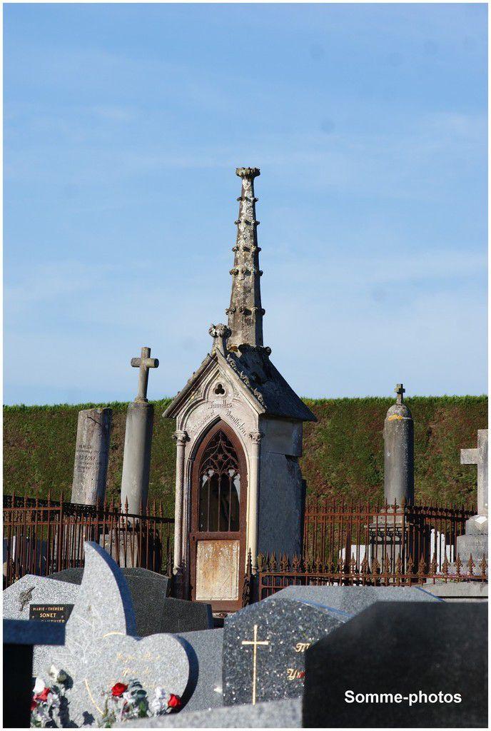 VRON (80) : le cimetière