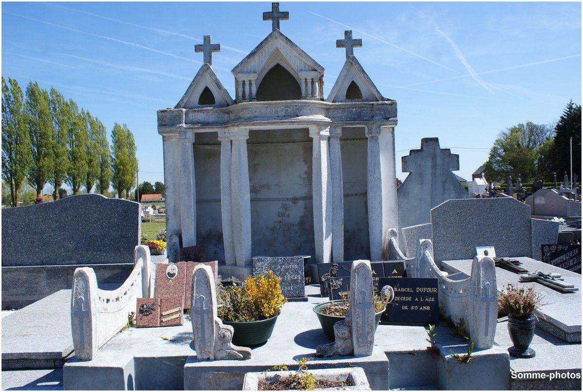 QUEND : le cimetière