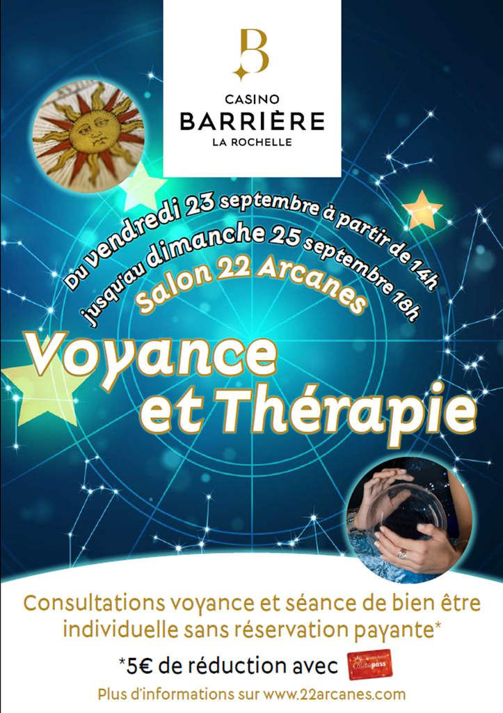 LE PREMIER SALON VOYANCE ET THÉRAPIES ALTERNATIVES