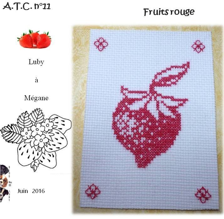 ATC &quot&#x3B;fruits rouges&quot&#x3B;