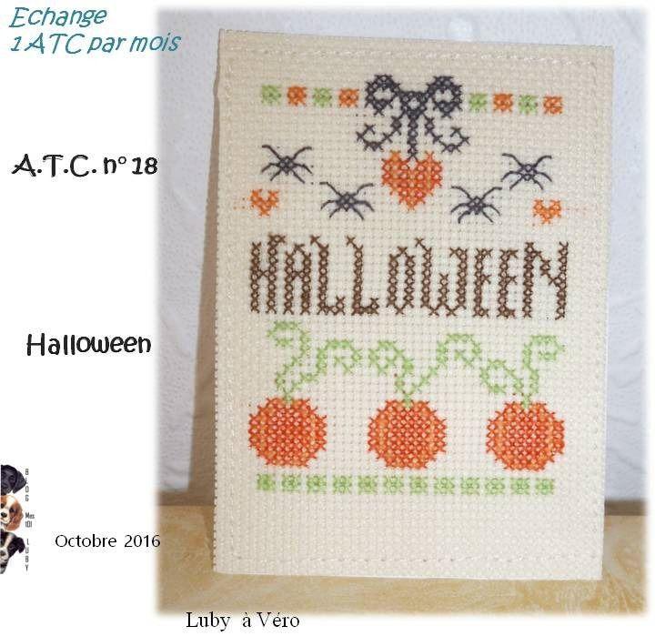 ATC &quot&#x3B;Halloween&quot&#x3B;