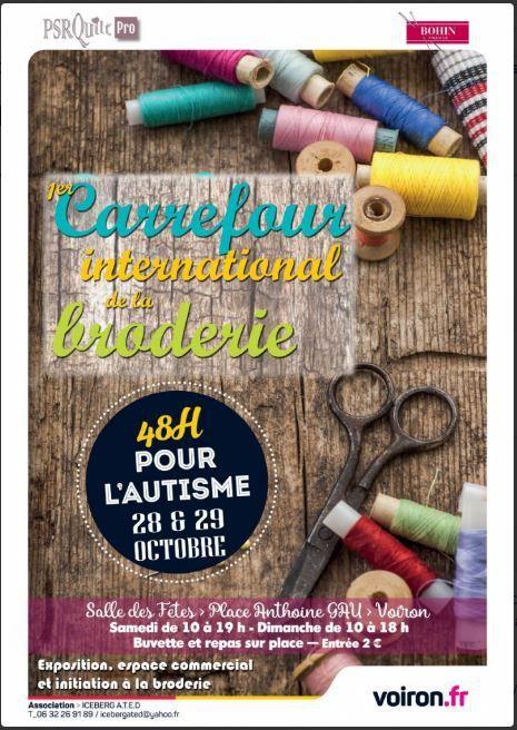 Dates à retenir : Octobre 2017 en Isère